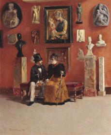 odoardo_borrani_rendezvous_in_den_uffizien_1878