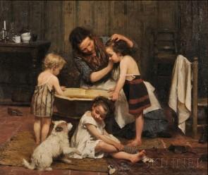 2673b-534-italian-painting-luigi-morgari